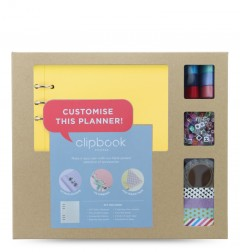 Clipbook A5 Creative Kit Lemon