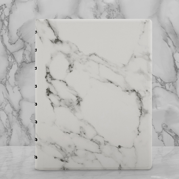 Filofax Notebook Patterns Marble