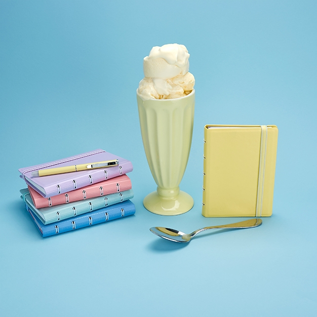 ice cream dream Filofax pastel notebooks