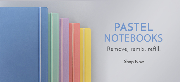 Filofax NZ Pastel Notebooks