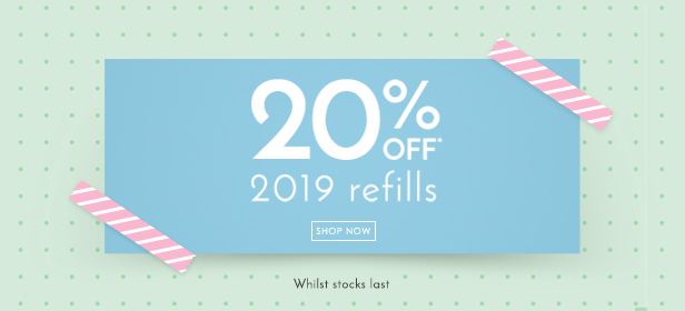 Filofax 2019 Refills on Sale